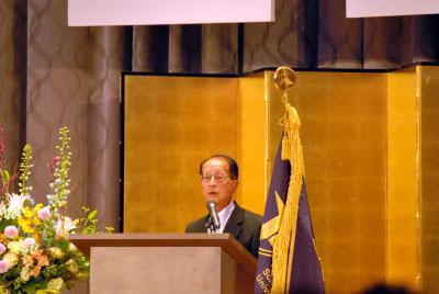 来賓祝辞 富士河口湖町長 渡辺 喜久男 様